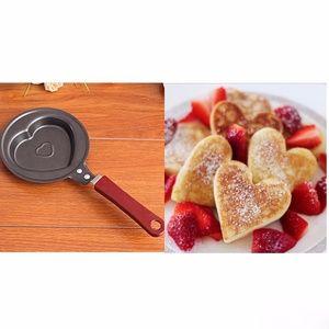 Cute & Fun Heart Shaped Mini Frying Pan ❤️